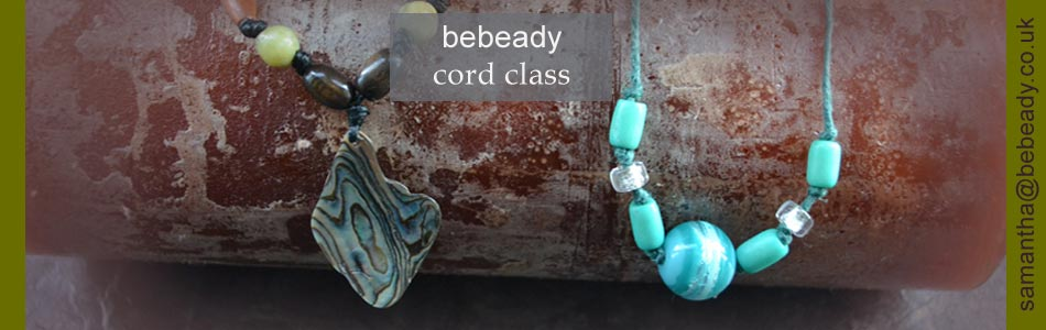 bebeady cord theme jewellery