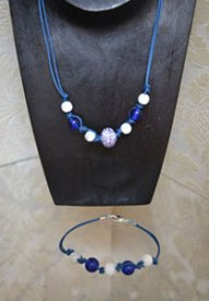 Christine's cord jewellery