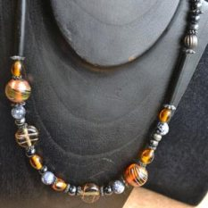 Mary'sMary's beadstringing with tigertail thread necklace