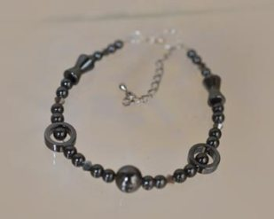 Pat's beaded bracelet