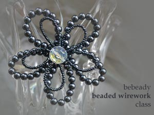 bebeady wrapped beaded wire accessories class