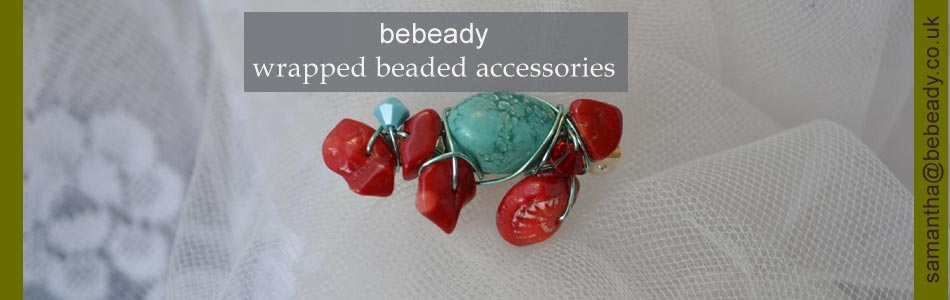 bebeady beaded and wrapped accessories class
