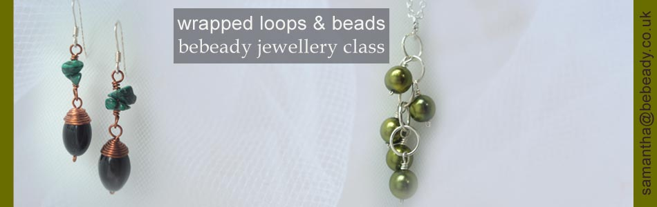 bebeady wrapped loops and beads theme jewellery