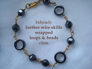 bebeady wrapped loop bracelet