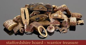 The Staffordshire Hoard - warrior treasure exhibition at Leeds Armouries Museum May- September 2016