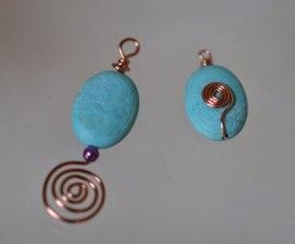 Gillian's spiral pieces