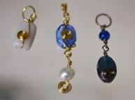 Jenny's wrapped pendants