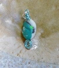 Susan's spiral pendant